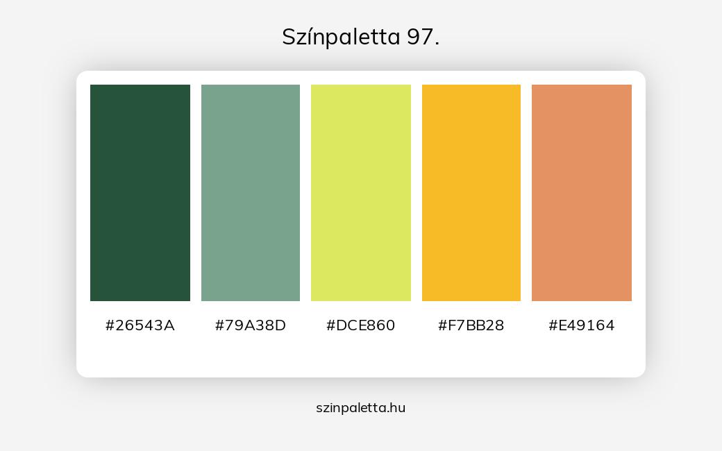 Színpaletta 97. - szinpaletta.hu
