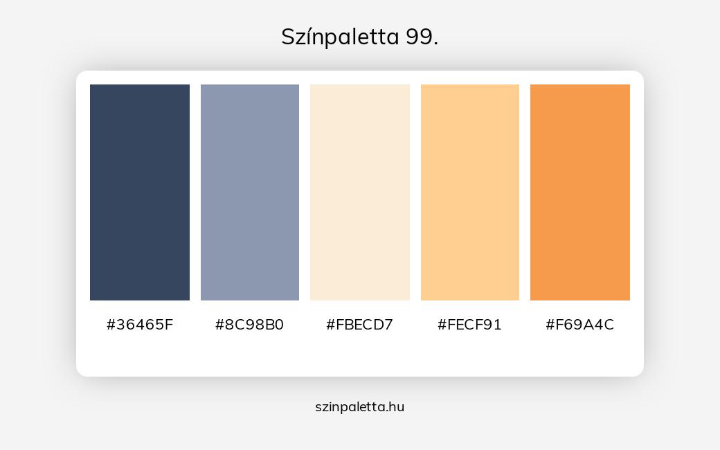 Színpaletta 99. - szinpaletta.hu