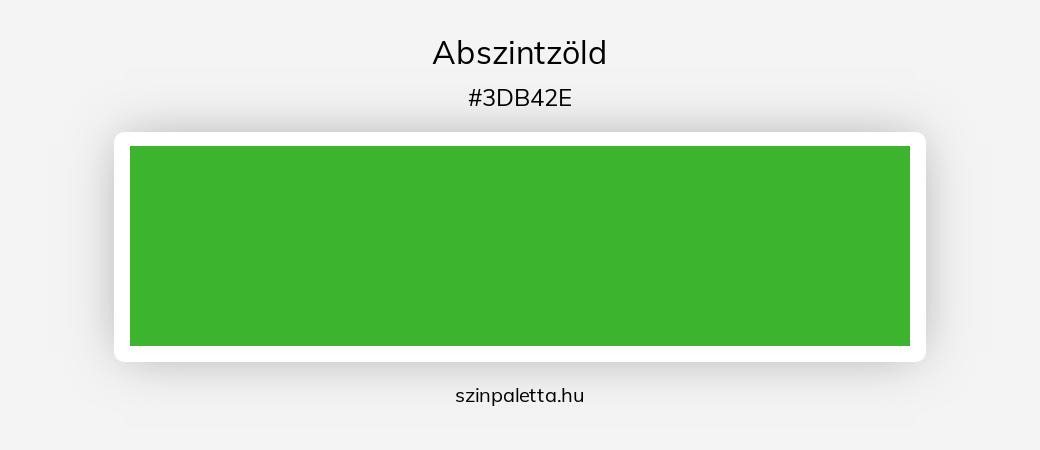 Abszintzöld - szinpaletta.hu