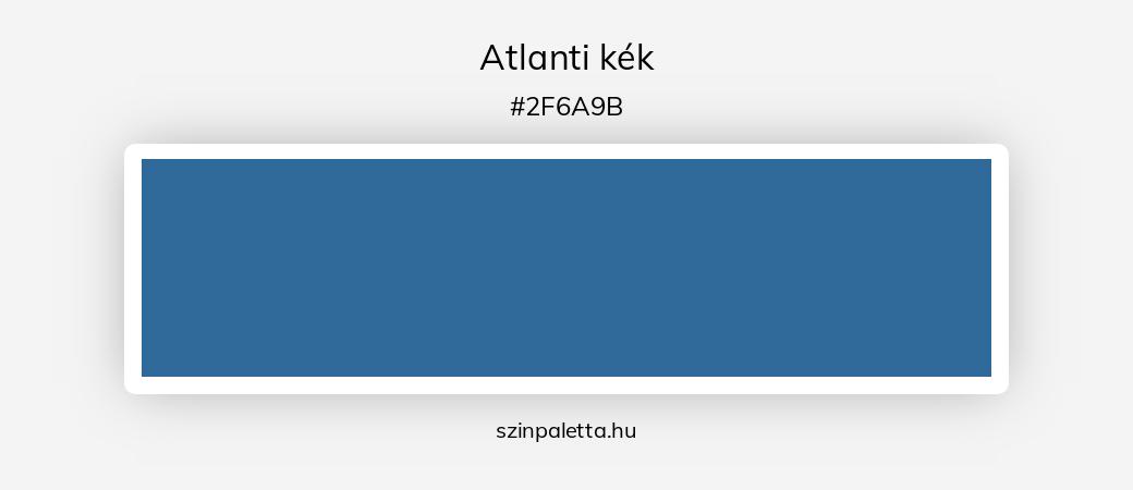 Atlanti kék - szinpaletta.hu